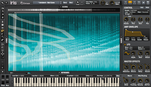 izotope iris software synthesizer