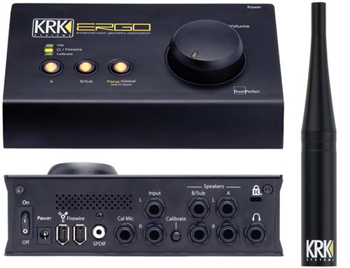 KRK Ergo Room Correction Tool