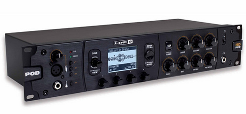 Line 6 POD HD Pro Version 2.0 Guitar Effects Processors