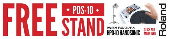 Roland HPD-10 Handsonic Promo