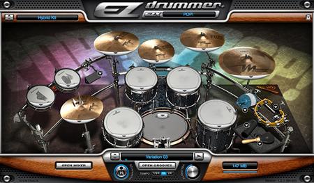 Toontrack Pop! EZX Virtual Drum Software
