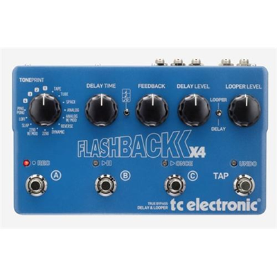 TC Electronic Flashback X4 Guitar Effects Pedal
