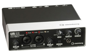 Steinberg UR-22 USB Audio Interface