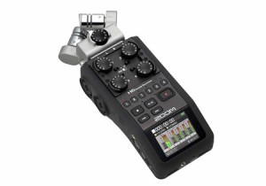 Zoom H6 handy multi-track MP3 recorder